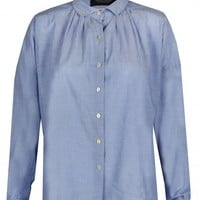 Maison Scotch Oversized Summer Chambray Shirt