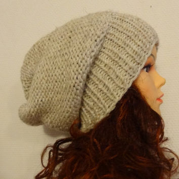 71c4e1061ff Sacking Winter Hat - Autumn Accessories - Slouchy Beanie Women Hat - Oversized  Hat - Chunky