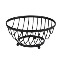 Spectrum Diversified 57710 Ashley Fruit Bowl, Black