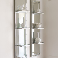 Mirrored Shelf Wall Panel - Neiman Marcus
