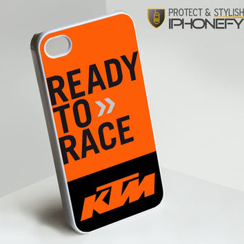 KTM Ready to Race iPhone 4[S] Case|iPhonefy