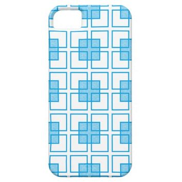 Boxed In Turquoise iPhone 5 Covers