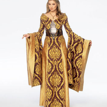 Medieval Dress, Queen Cersei Costume Sewing Pattern, Lord of the Rings, Cersei Game of Thrones McCall's 6940 sz 6, 8, 10, 12, 14 uncut