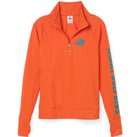 Dolphins Athletic Half-Zip Pullover