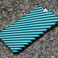 Green iPhone 6 iPhone 6 plus Case Black iPhone 5S 5 iPhone 5C iPhone 4S/4 Case Stripes Samsung Galaxy S6 edge S6 S5 S4 S3 Note 3 Case - 010