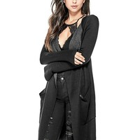 Egle Open Cardigan at Guess