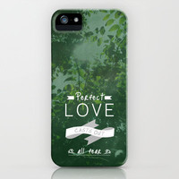 1 John 4:18 NO FEAR IN LOVE iPhone Case by Pocket Fuel | Society6