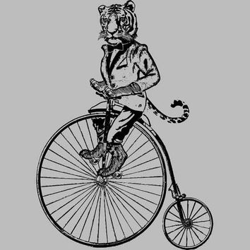 Tiger on a Bike