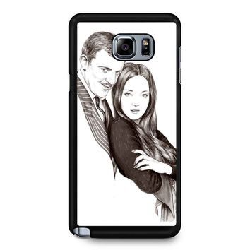 Morticia And Gomez - The Addams Family Samsung Galaxy Note 5 Case