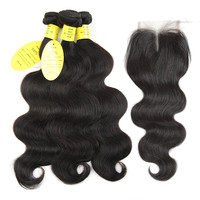 Aliexpress.com : Buy Queen like Hair Products Brazilian Body Wave With Closure Non Remy Hair Weft Weave 2 3 4 Bundles Human Hair Bundles With Closure from Reliable bundles with closure suppliers on Queenlike Official Store