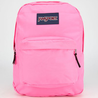 Jansport Superbreak Backpack Fluorescent Pink One Size For Men 23732335001
