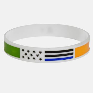 Irish Thin Blue Line wristband