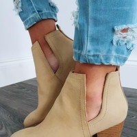 Hit The Road Booties: Sand