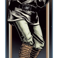 Santa Cruz Star Wars Luke Skywalker Deck Only 7.8