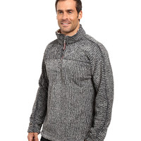 True Grit Frosty Cord Pile 1/4 Zip Pullover