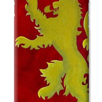 Game of Thrones Phone Case House Lannister - Samsung Galaxy S4 / S5 S6- iPhone 4S / 5 / 6 Plus Case - Gifts for Men - Gifts for Book Lovers