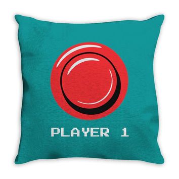 player 1 Throw Pillow