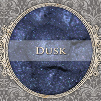 DUSK Mineral Eyeshadow: 5g Sifter Jar, Dark Navy Blue, VEGAN Cosmetics, Shimmer Eyeshadow