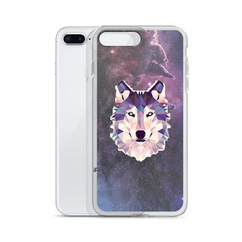Galaxy Wolf iPhone Case, Native American, Wolf art, iPhone 5 Case, Wolf iPhone X Case iPhone 6 Case iPhone 7 Plus