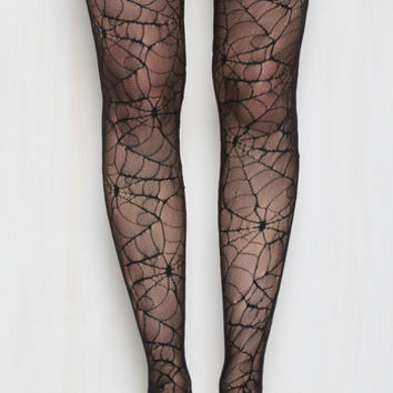 Web, Where, and Why Tights | Mod Retro Vintage Tights | ModCloth.com