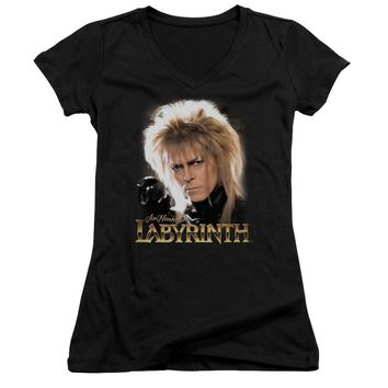 Labyrinth - Jareth Junior V Neck Officially Licensed Apparel