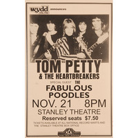 Tom Petty - Concert Promo Poster