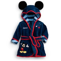 Disney Mickey Mouse Bath Robe for Baby - Personalizable | Disney Store