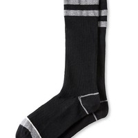 Banana Republic Double Stripe Tube Sock Size One Size - Black