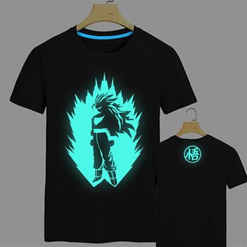 e2fceae977f5ef Dragon Ball Z T Shirt Super Saiyan t shirt men Son Goku Tees Top