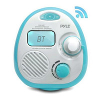Bluetooth Splash Proof Water Resistant Alarm Clock Radio