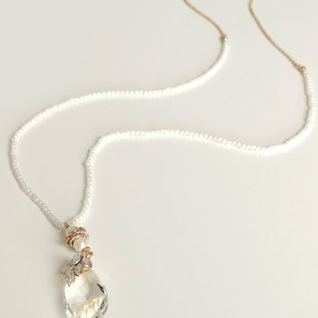 Pearl Of The Party Necklace