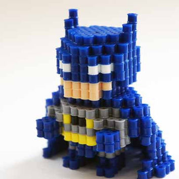 Batman Perler Beads 3D figure