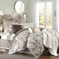 Belville Ten Piece King Comforter Set Hampton Hill King Comforter Sets Bedding