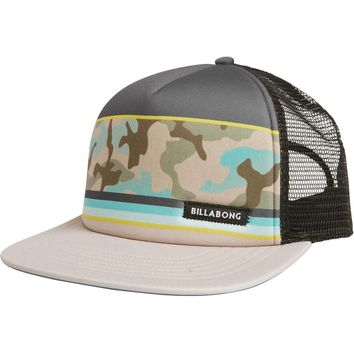 Billabong Spinner Camo Trucker Hat