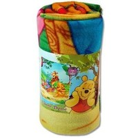 LicensedCartoons.com: Pooh Fleece Throw Blanket