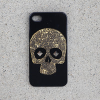 Black Skull Stud Case