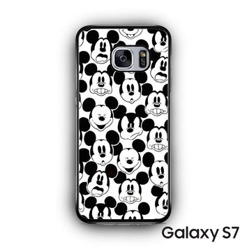 Mickey Mouse Wallpaper for Samsung Galaxy S7 custom phonecases