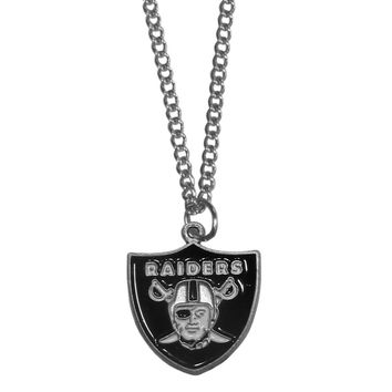 Oakland Raiders Chain Necklace FN125