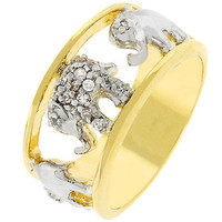 Pave Elephant Ring (size: 06)