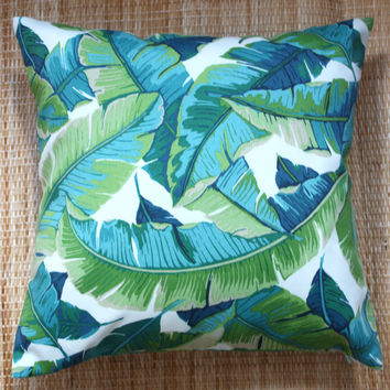 banana leaf outdoor cushions