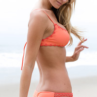 Posh Pua - Pualei Crochet Bottom / Coral