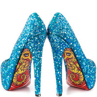 TaylorSays: Freddie Heels Turquoise, at 26% off!