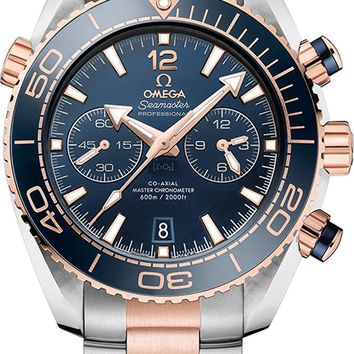 Omega Seamaster Planet Ocean 600 M Rose Gold Men's Watch 215.20.46.51.03.001