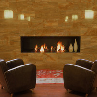 Gas fireplace DIM'ORA CLASSIC 45-50-60 by DIM'ORA