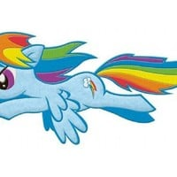 My Little Pony Friendship Is Magic Rainbow Dash Flying Patch - My Little Pony - | TV Store Online