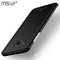 Luxury S7 case S7 Edge case Msvii For Samsung Galaxy S7 S7 Edge ultra Thin Hard PC 360 full Back Cover Protective Shell Skin