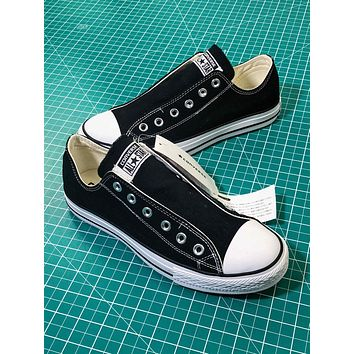 Converse All Star Slip ¢£ Ox Black Sneakers - Sale