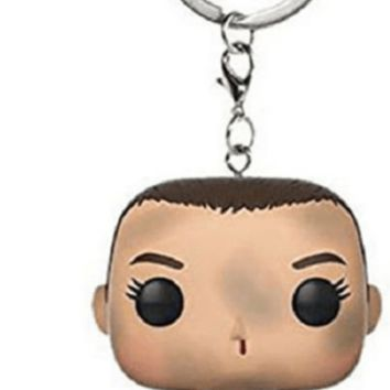 Stranger things 11 keychain