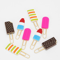 Decor Craft Frozen Treat Paperclip - Set Of 8 - Urban Outfitters