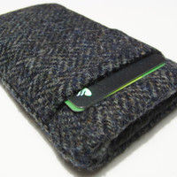 iphone 6Cover / iphone 6 plus Case / HTC Herringbone Harris Tweed Sleeve